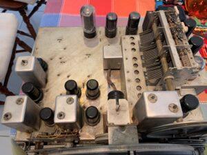 Guts-eye view of my grandmother's 1948 Crosley radio